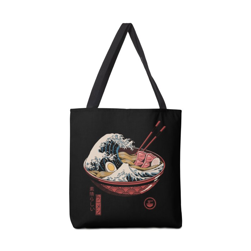 Great Ramen Wave Accessories Bag by Threadless Artist Shop