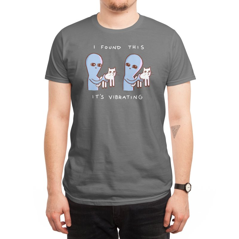 Strange Planet: I Found This It's Vibrating Men's T-Shirt by Threadless Artist Shop