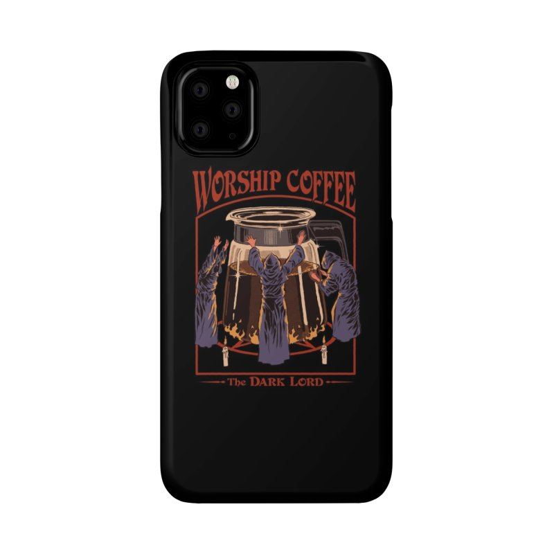 Worship Coffee Accessories Phone Case by Threadless Artist Shop