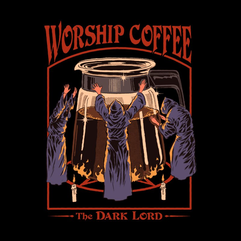 Worship Coffee Women's Longsleeve T-Shirt by Threadless Artist Shop