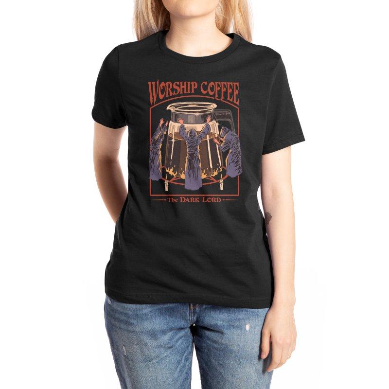 Worship Coffee Women's T-Shirt by Threadless Artist Shop