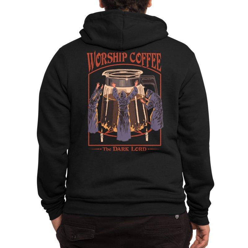 Worship Coffee Men's Zip-Up Hoody by Threadless Artist Shop