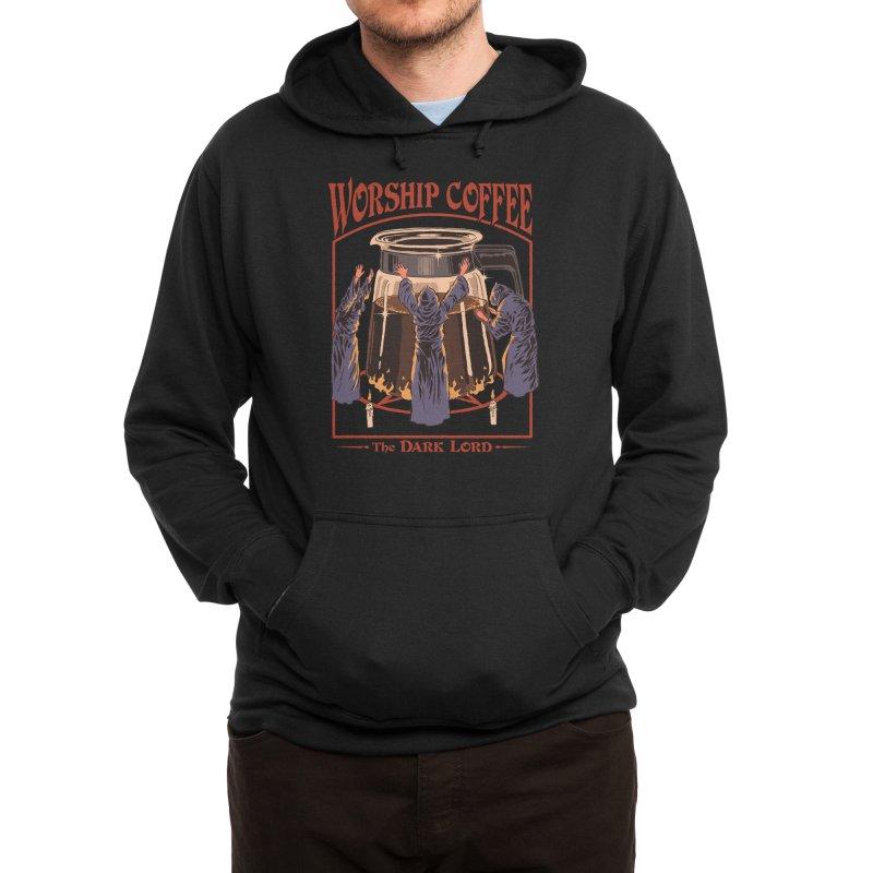 Worship Coffee Men's Pullover Hoody by Threadless Artist Shop