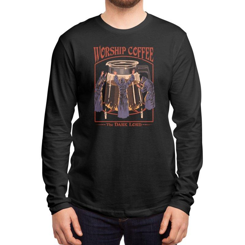 Worship Coffee Men's Longsleeve T-Shirt by Threadless Artist Shop