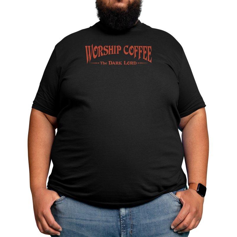 Worship Coffee Men's T-Shirt by Threadless Artist Shop