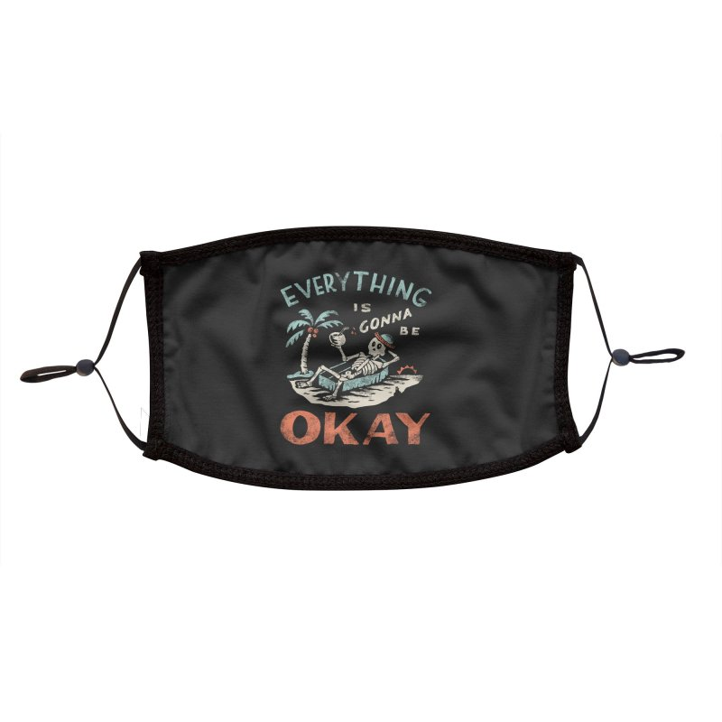 Okay Accessories Face Mask by Threadless Artist Shop
