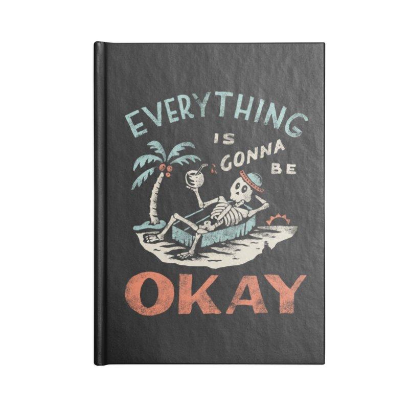 Okay Accessories Notebook by Threadless Artist Shop