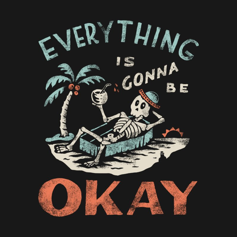 Okay Home Shower Curtain by Threadless Artist Shop