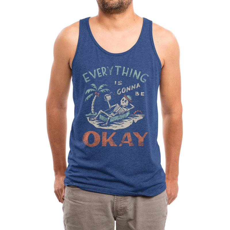 Okay Men's Tank by Threadless Artist Shop