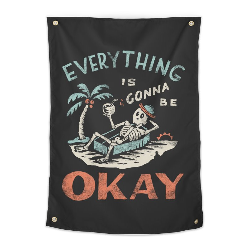 Okay Home Tapestry by Threadless Artist Shop