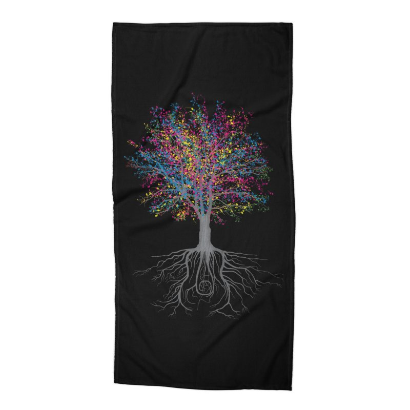 It Grows on Trees Accessories Beach Towel by Threadless Artist Shop