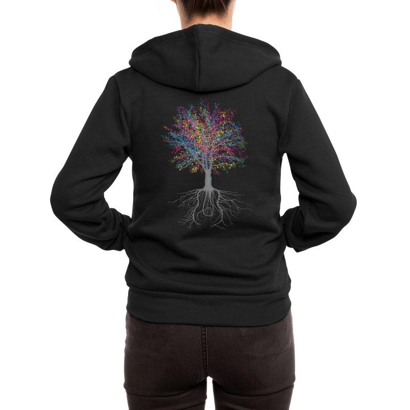 It Grows on Trees Women's Zip-Up Hoody by Threadless Artist Shop