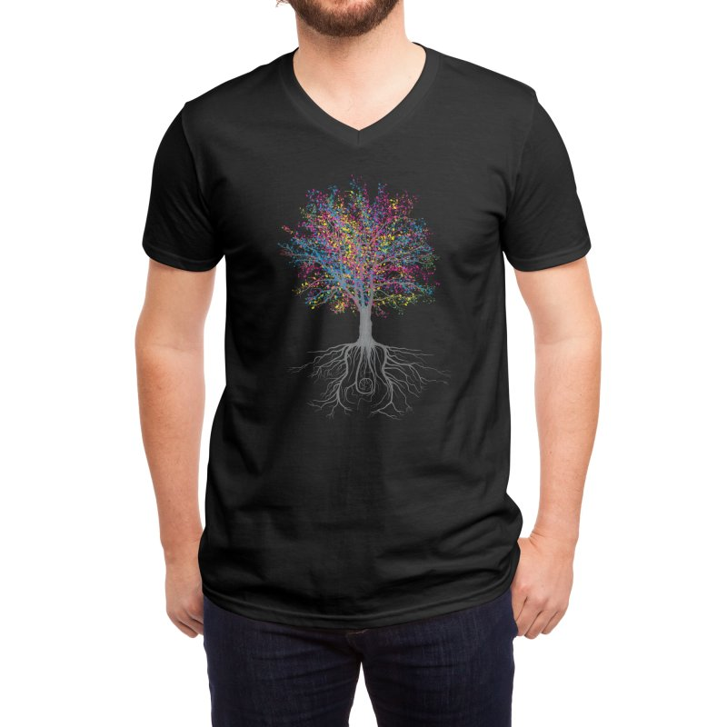 It Grows on Trees Men's V-Neck by Threadless Artist Shop