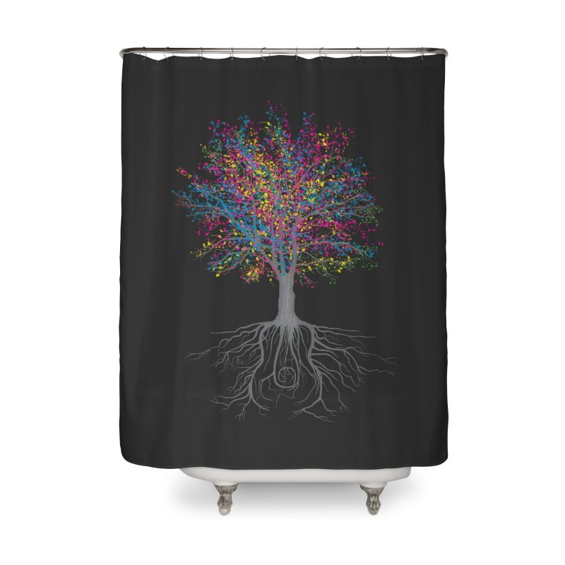 It Grows on Trees Home Shower Curtain by Threadless Artist Shop