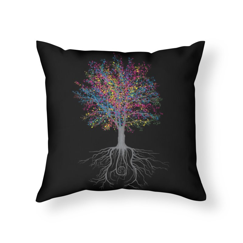 It Grows on Trees Home Throw Pillow by Threadless Artist Shop