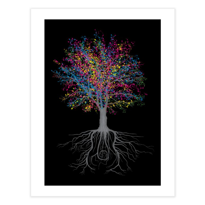 It Grows on Trees Home Fine Art Print by Threadless Artist Shop