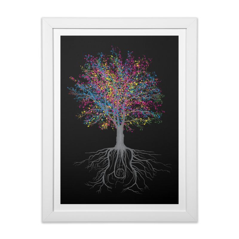 It Grows on Trees Home Framed Fine Art Print by Threadless Artist Shop