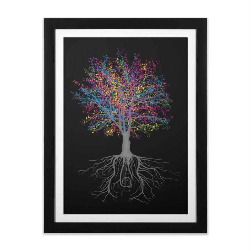 It Grows on Trees Home Framed Fine Art Print by Threadless Artist Shop