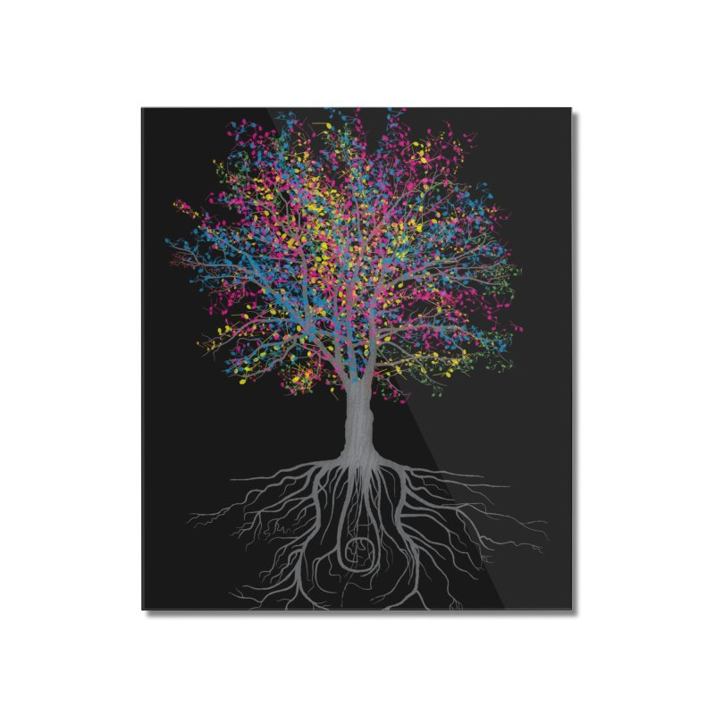 It Grows on Trees Home Mounted Acrylic Print by Threadless Artist Shop