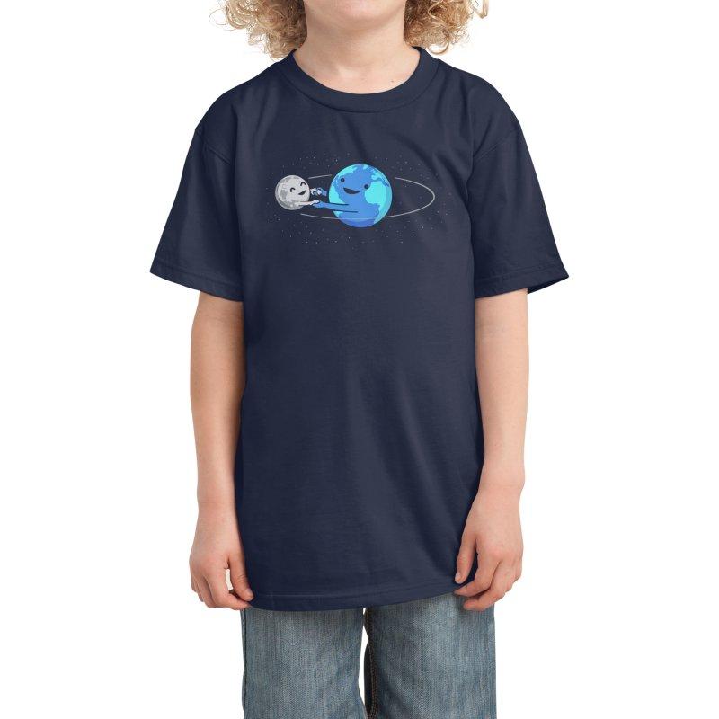 I Love Being Around You Kids T-Shirt by Threadless Artist Shop