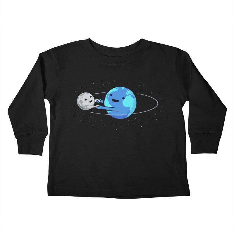 I Love Being Around You Kids Toddler Longsleeve T-Shirt by Threadless Artist Shop
