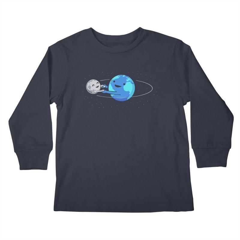 I Love Being Around You Kids Longsleeve T-Shirt by Threadless Artist Shop
