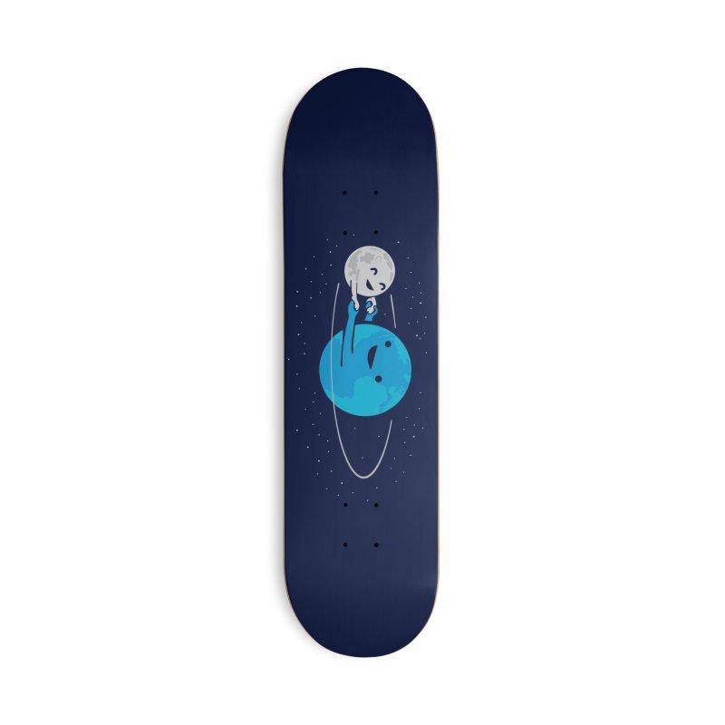 I Love Being Around You Accessories Skateboard by Threadless Artist Shop