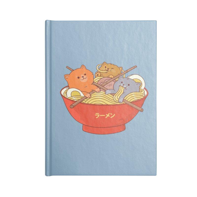 Ramen and cats Accessories Notebook by Threadless Artist Shop