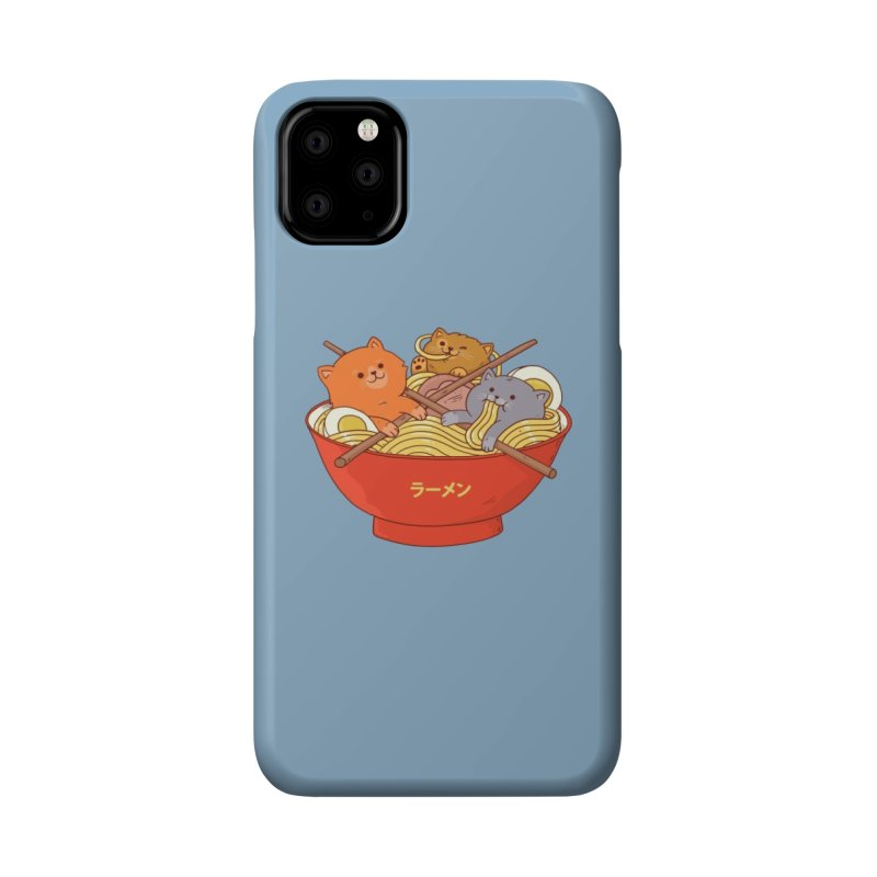 Ramen and cats Accessories Phone Case by Threadless Artist Shop