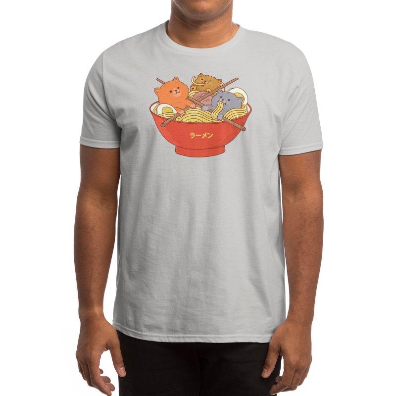 Ramen and cats Men's T-Shirt by Threadless Artist Shop