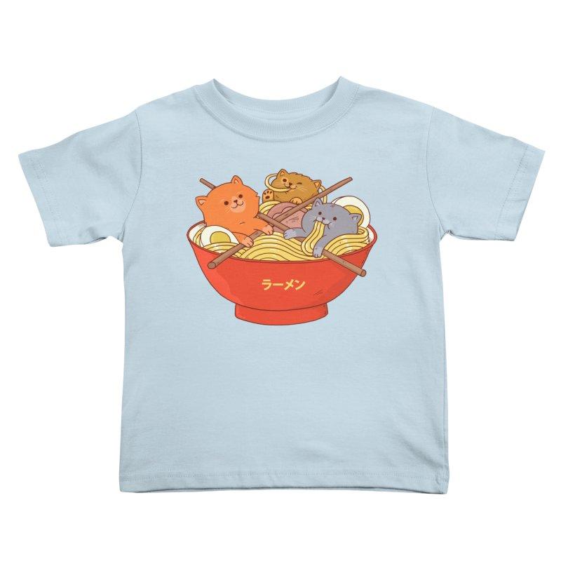 Ramen and cats Kids Toddler T-Shirt by Threadless Artist Shop
