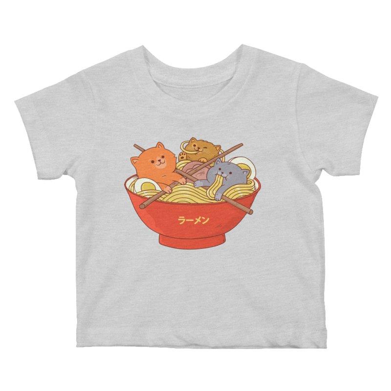 Ramen and cats Kids Baby T-Shirt by Threadless Artist Shop