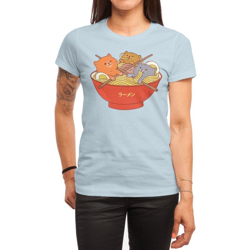Ramen and cats Women's T-Shirt by Threadless Artist Shop
