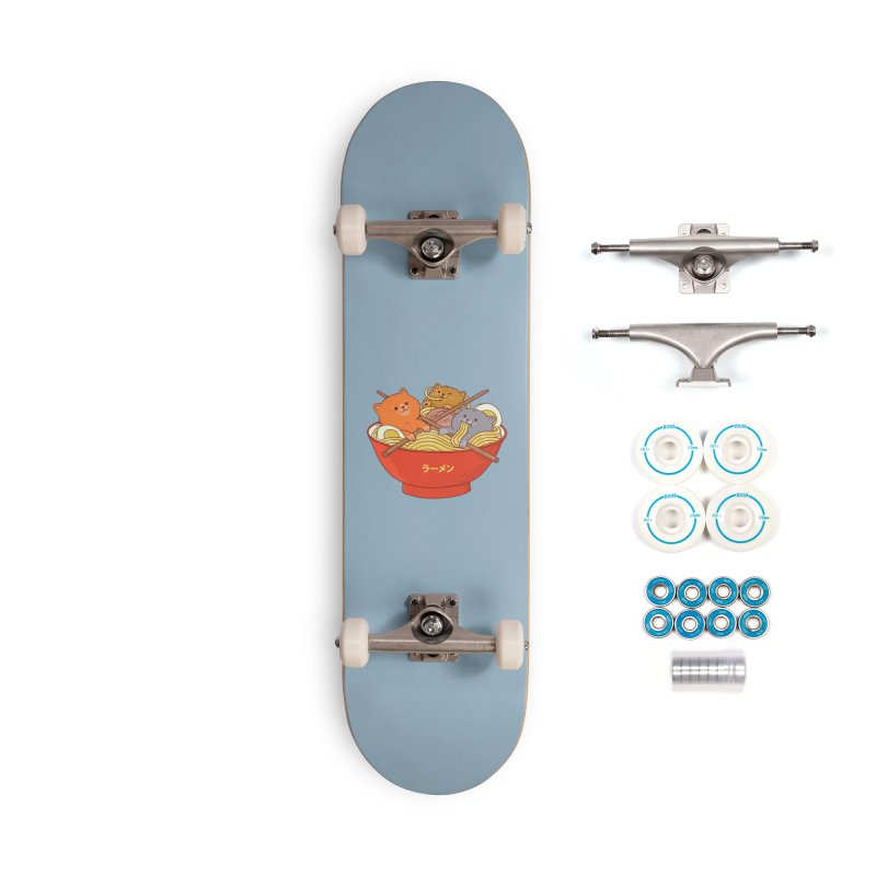 Ramen and cats Accessories Skateboard by Threadless Artist Shop