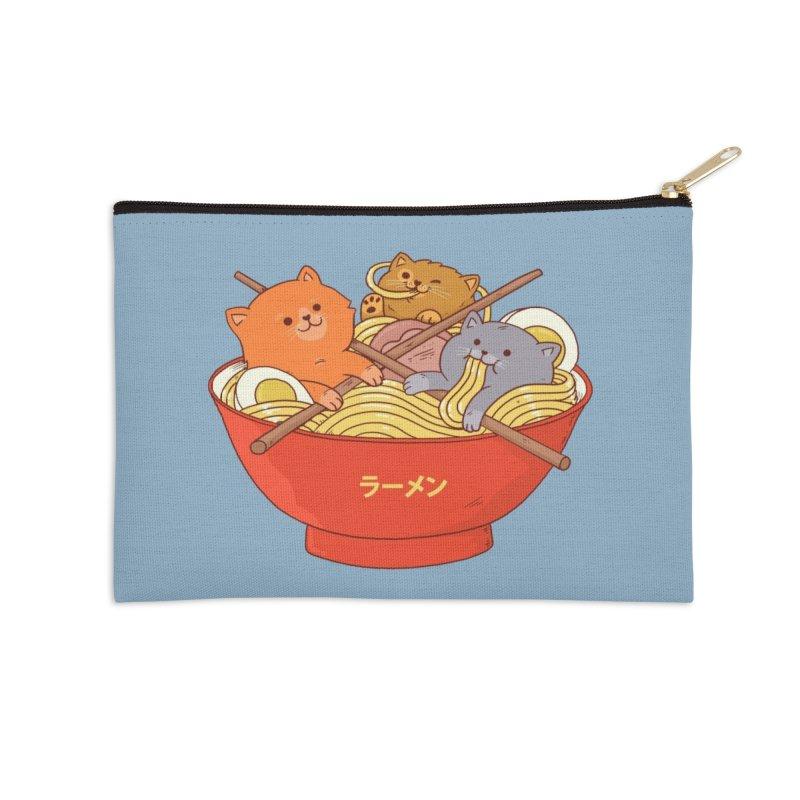 Ramen and cats Accessories Zip Pouch by Threadless Artist Shop