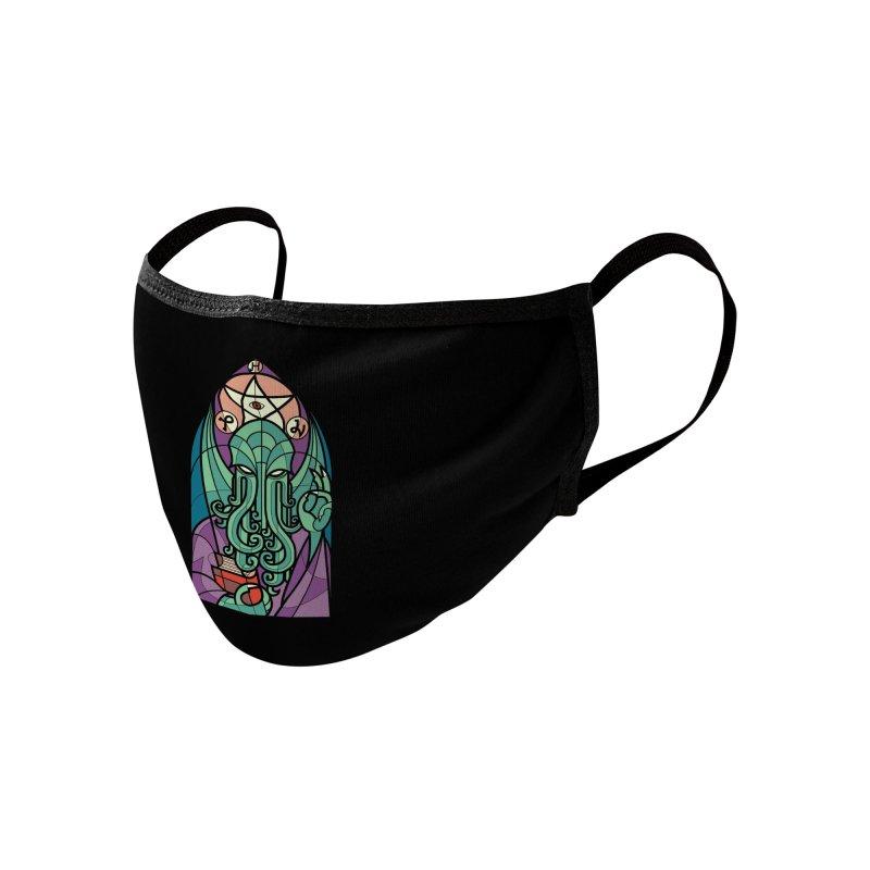Cthulhu's Church Accessories Face Mask by Threadless Artist Shop