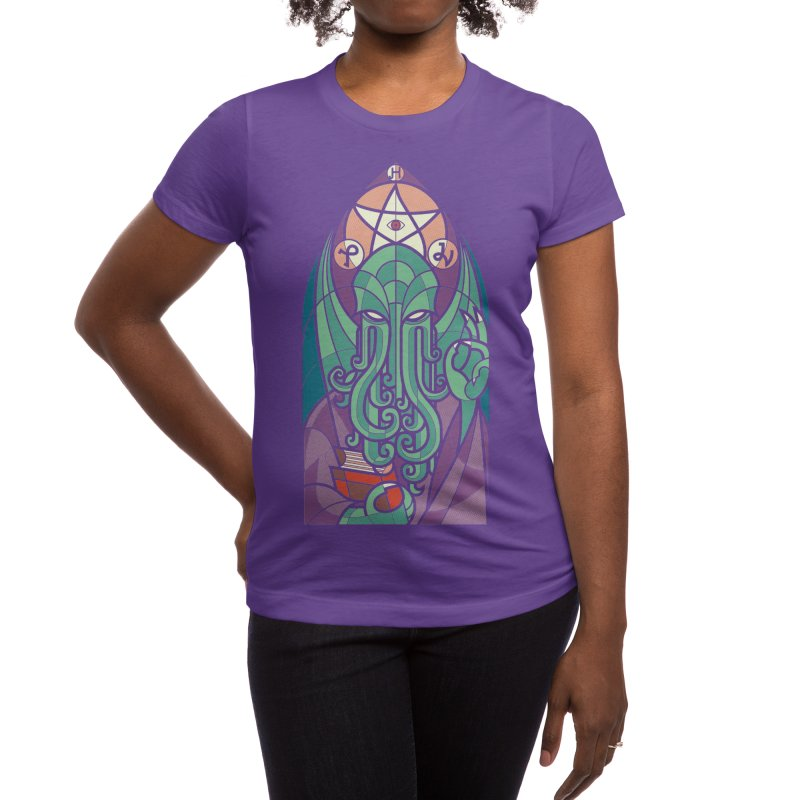 Cthulhu's Church Women's T-Shirt by Threadless Artist Shop