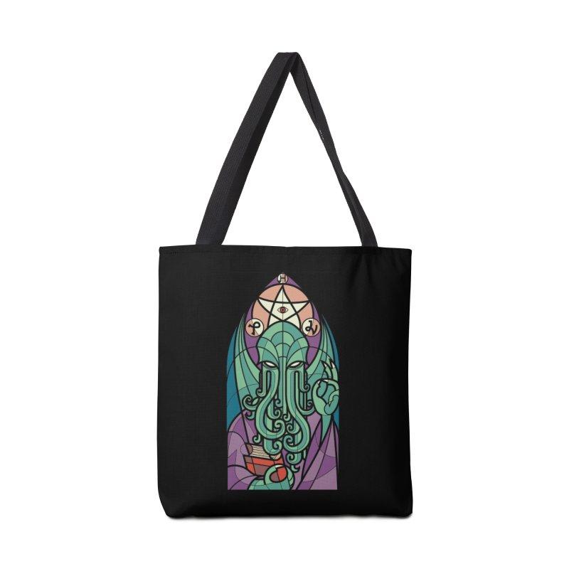 Cthulhu's Church Accessories Bag by Threadless Artist Shop
