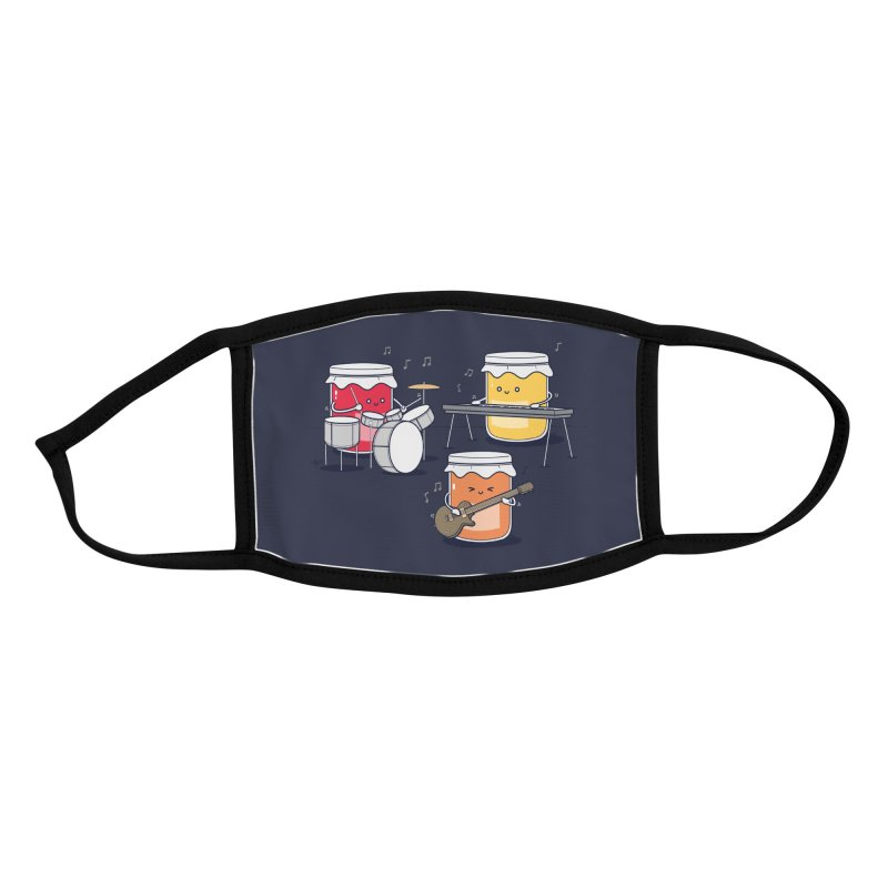 Jam Session Accessories Face Mask by Threadless Artist Shop