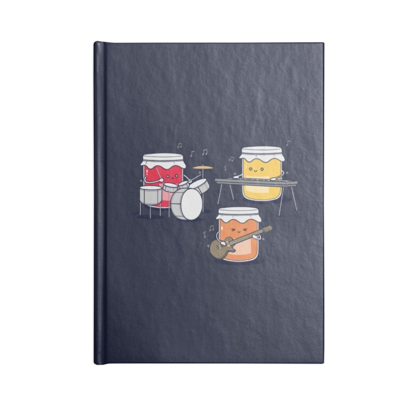 Jam Session Accessories Notebook by Threadless Artist Shop