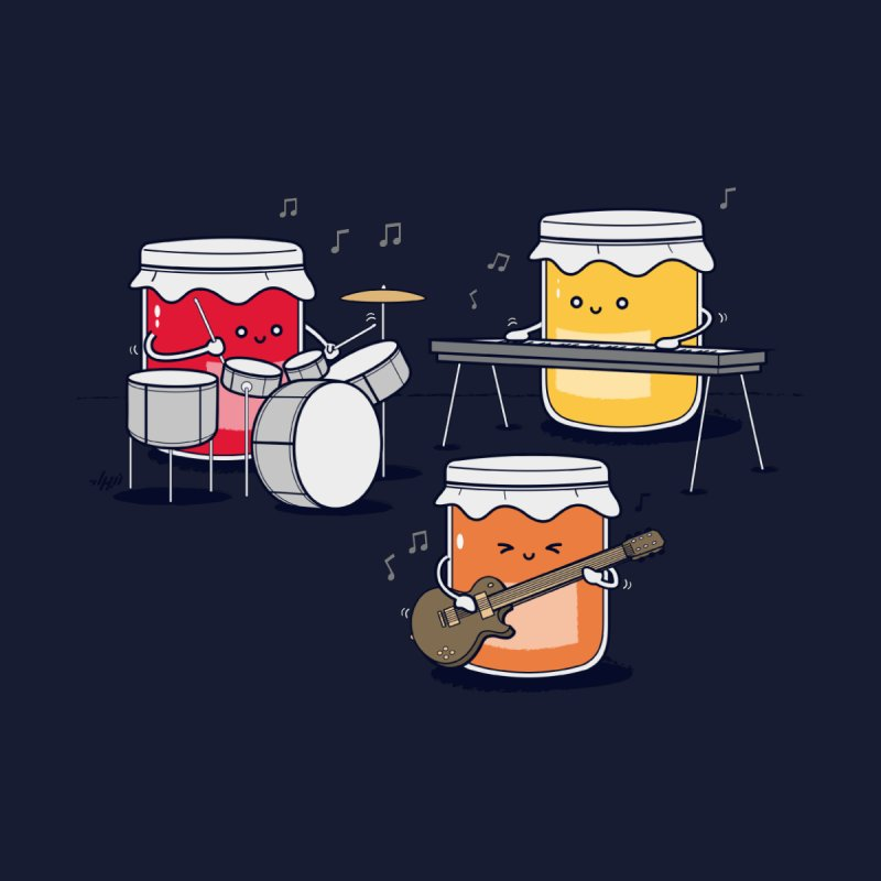 Jam Session Home Throw Pillow by Threadless Artist Shop