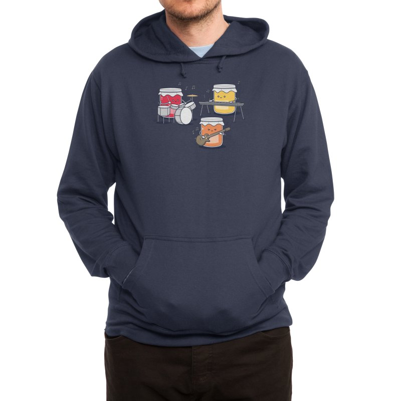 Jam Session Men's Pullover Hoody by Threadless Artist Shop
