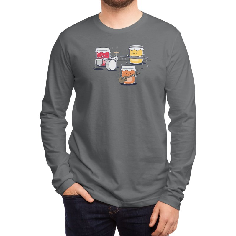 Jam Session Men's Longsleeve T-Shirt by Threadless Artist Shop