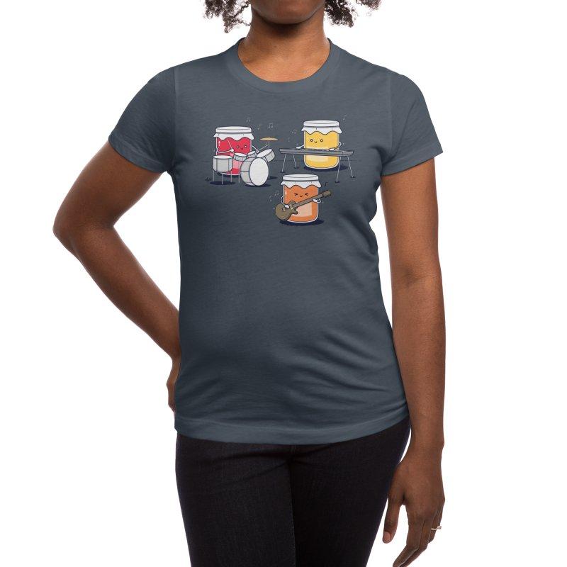 Jam Session Women's T-Shirt by Threadless Artist Shop