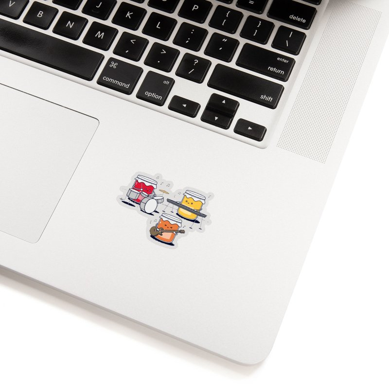 Jam Session Accessories Sticker by Threadless Artist Shop