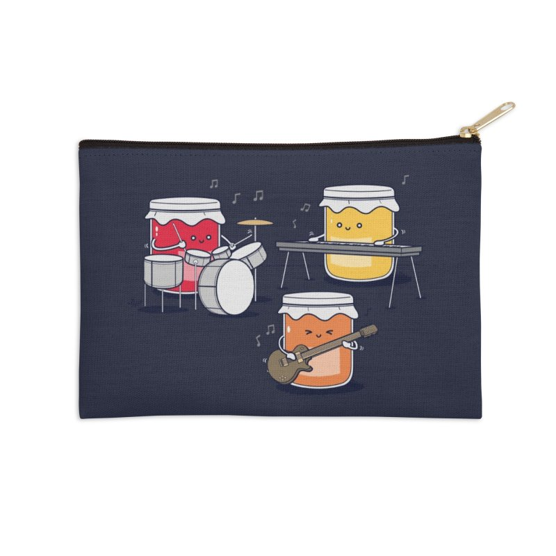 Jam Session Accessories Zip Pouch by Threadless Artist Shop