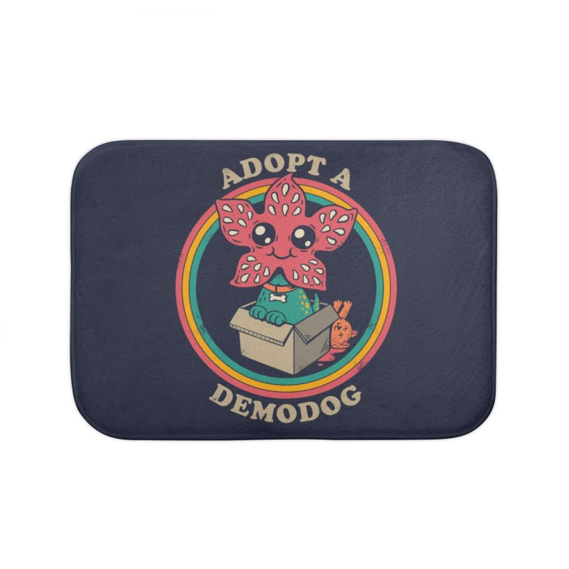 Adopt a Demodog Home Bath Mat by Threadless Artist Shop