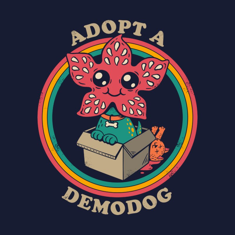 Adopt a Demodog Kids T-Shirt by Threadless Artist Shop