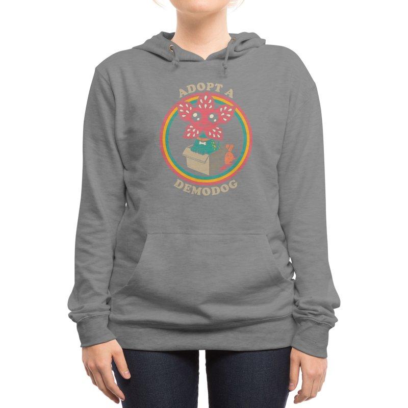 Adopt a Demodog Women's Pullover Hoody by Threadless Artist Shop