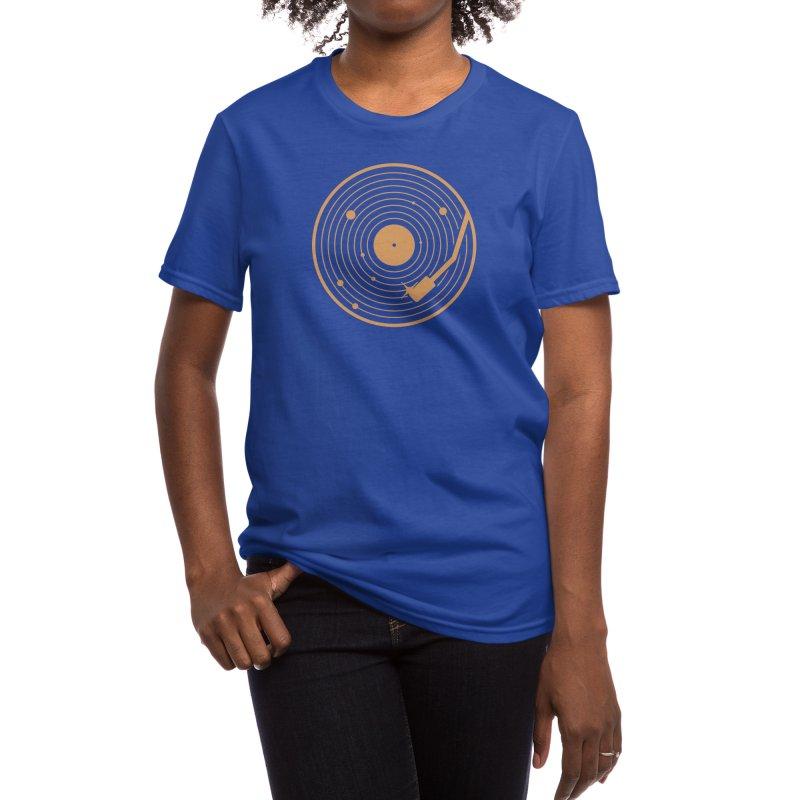 The Vinyl System Women's T-Shirt by Threadless Artist Shop